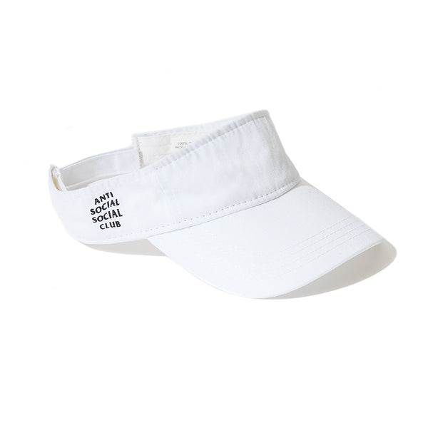 Sun Tan Visor White