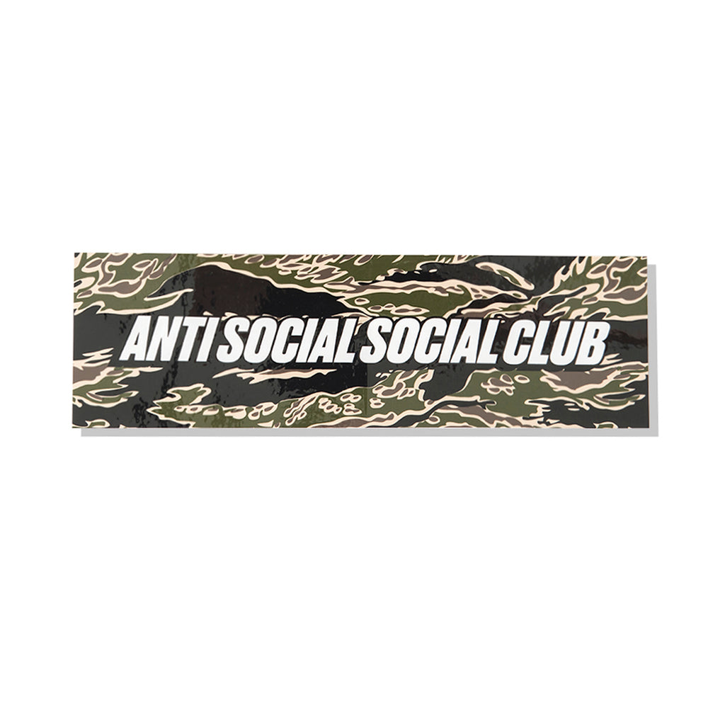 Tiger Camo Box Sticker