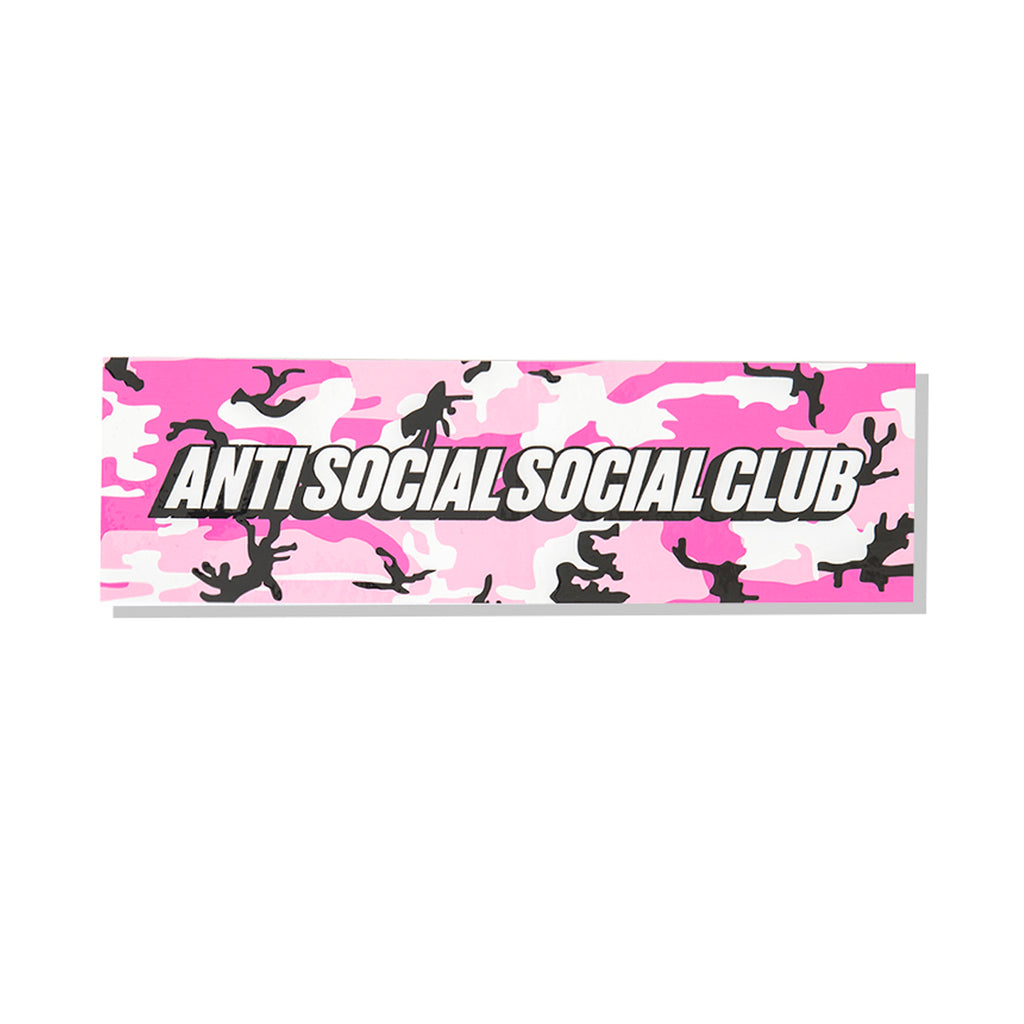 Pink Camo Box Sticker