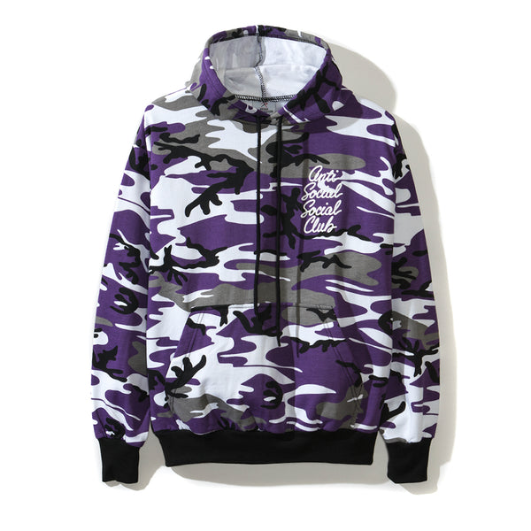 Options Purple Camo Hoodie
