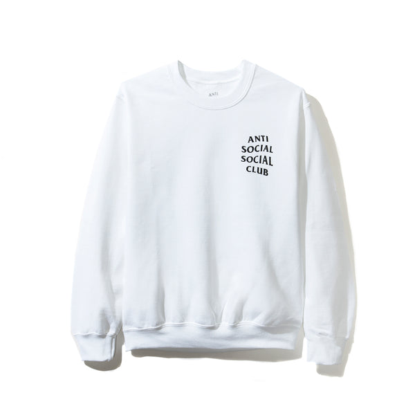 Bukake White Long Sleeve Tee