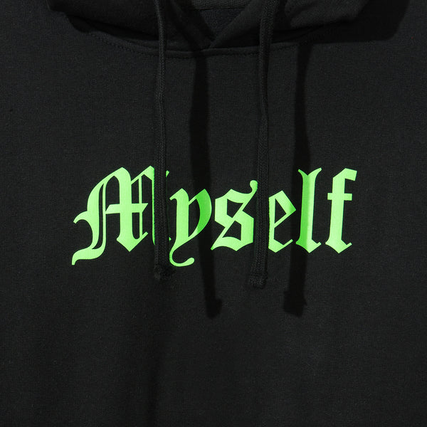 Myself Black Hoody