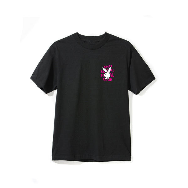 Playboy Remix Black Tee
