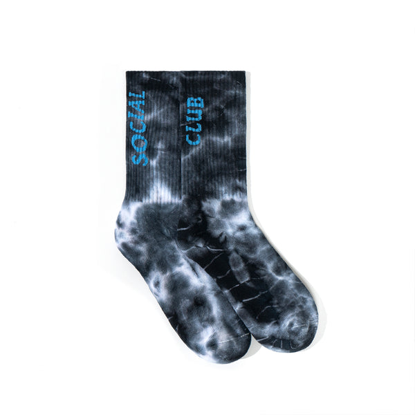 Melted Hearts Black Socks