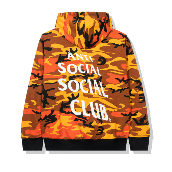 True Colors Orange Camo Hoodie