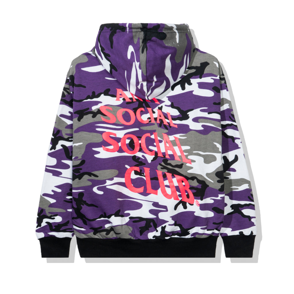 True Colors Purple Camo Hoodie