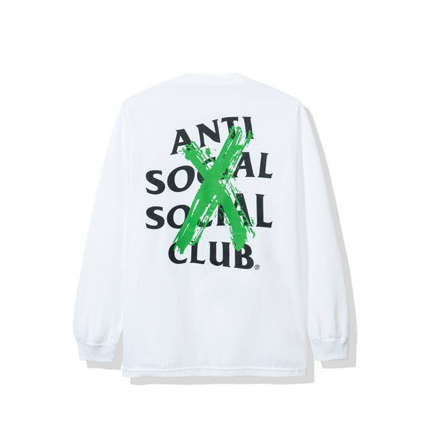 Cancelled Remix White Long Sleeve Tee