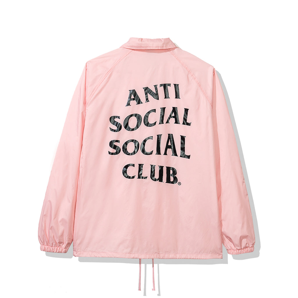 Burn Out Pink Coach Jacket