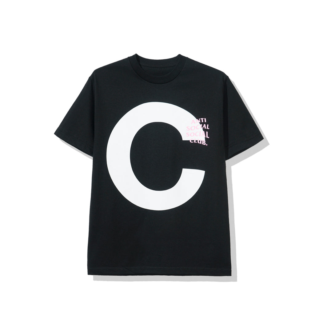 "Catchem Black ""C"" Tee"