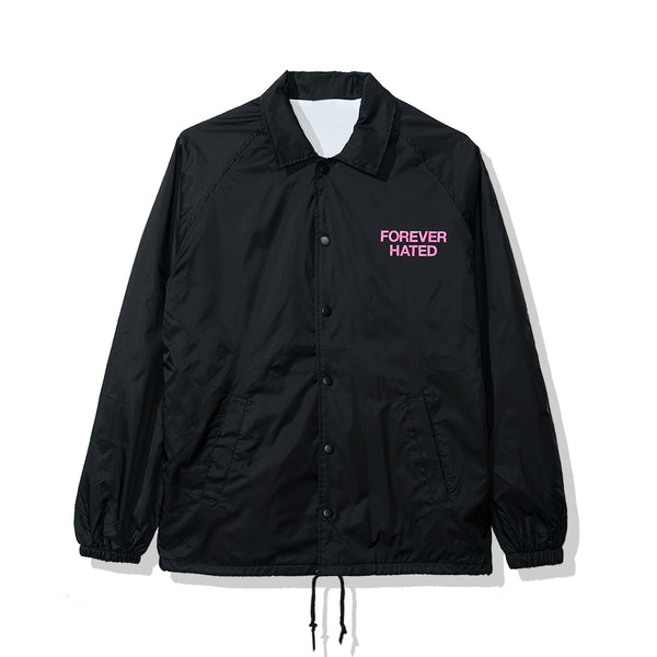 Forever Hated Black Coach Jacket
