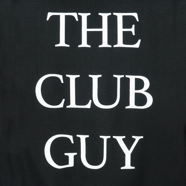 The Club Guy Black Hoodie