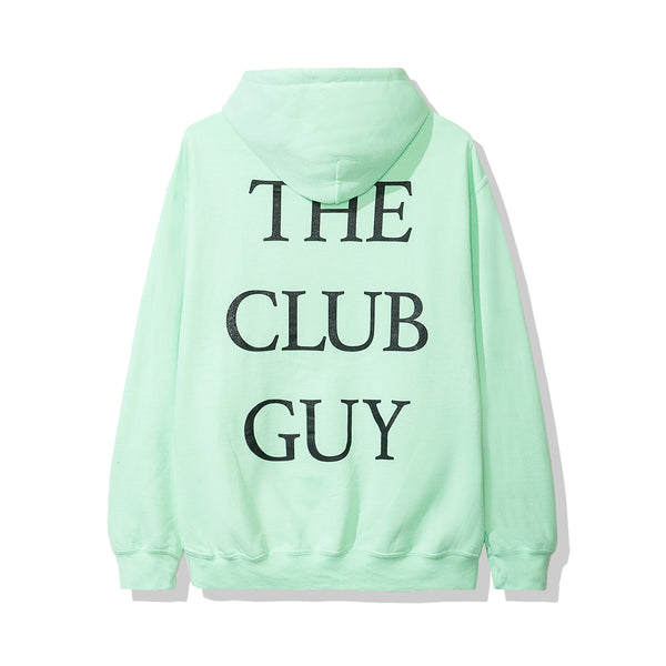 The Club Guy Green Hoodie