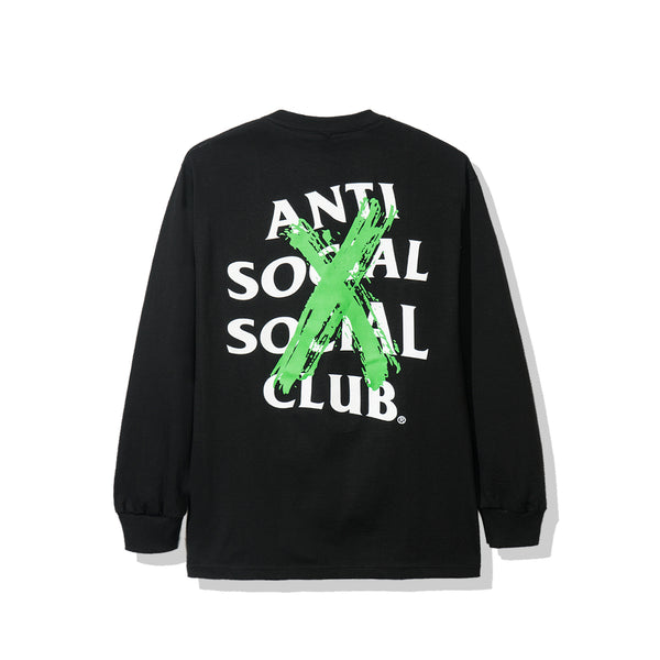 Cancelled Remix Black Long Sleeve Tee