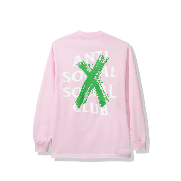 Cancelled Remix Pink Long Sleeve Tee