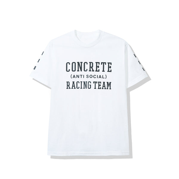 Concrete Jungle | Anti Social Social Club Racing Team White Tee