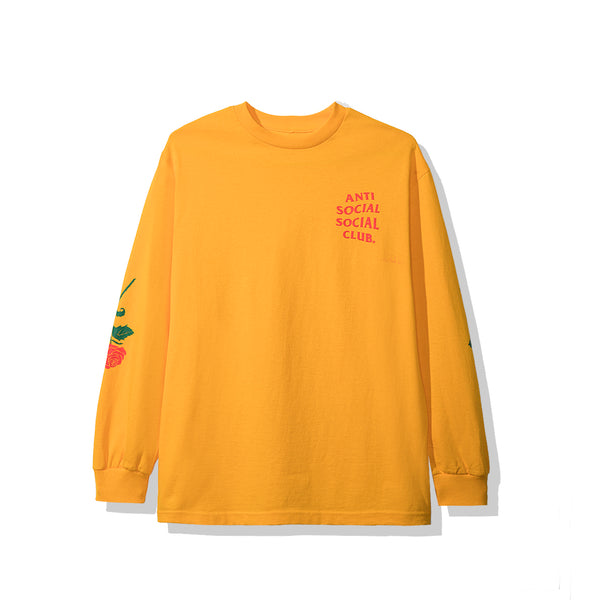 Violets Are Blue Yellow Long Sleeve Tee