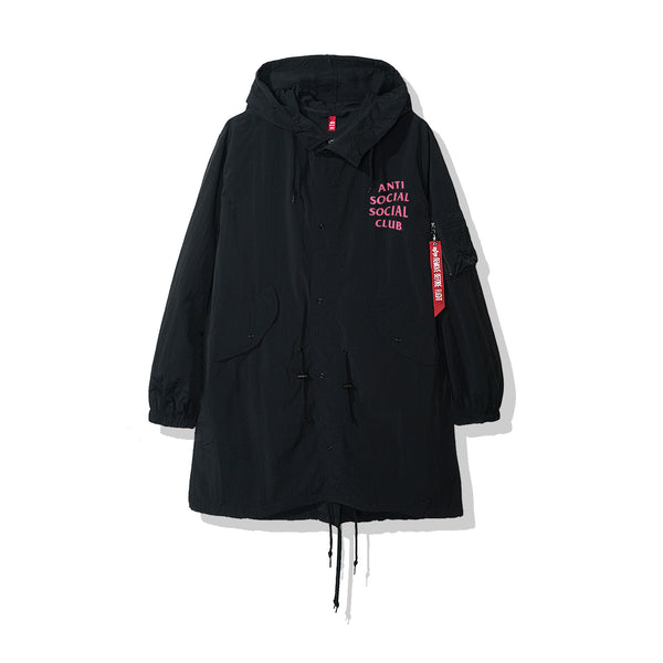 Sinai Black Fishtail Parka