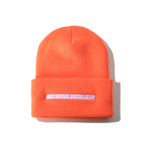 Mr. Bean Orange Knit Cap