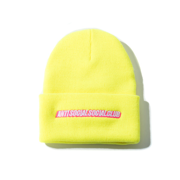 Mr. Bean Yellow Knit Cap