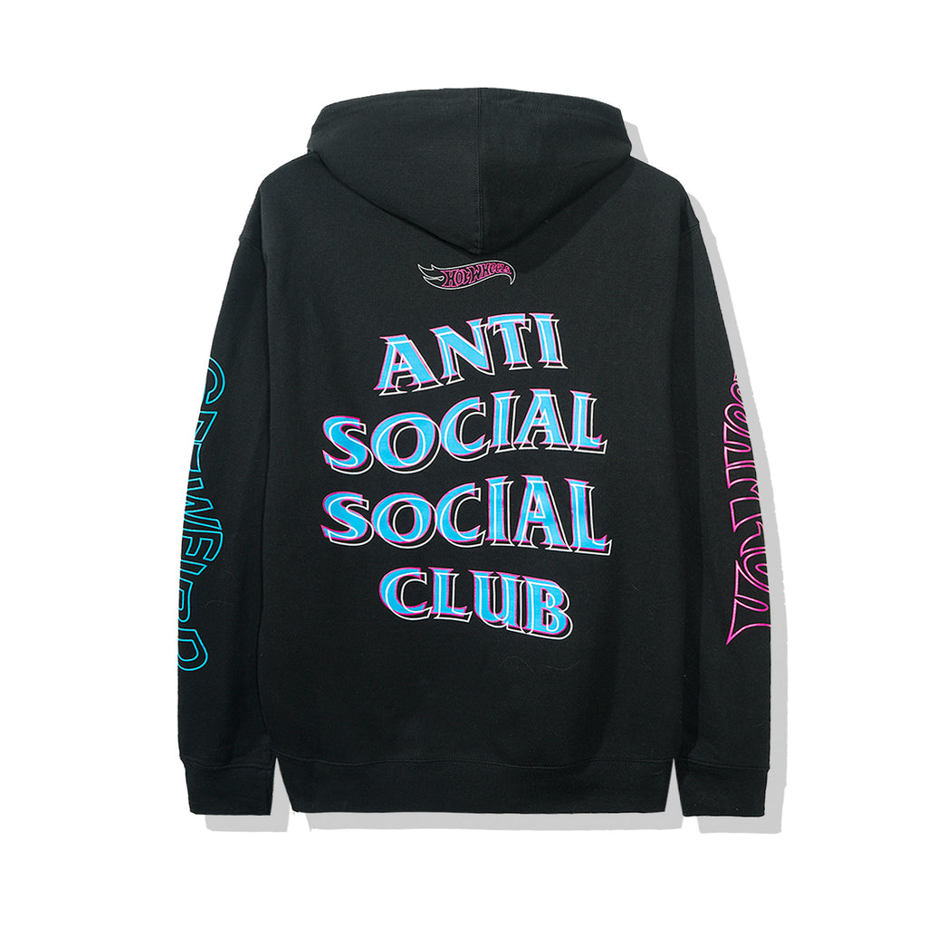Hot Wheels | ASSC Black Hoodie