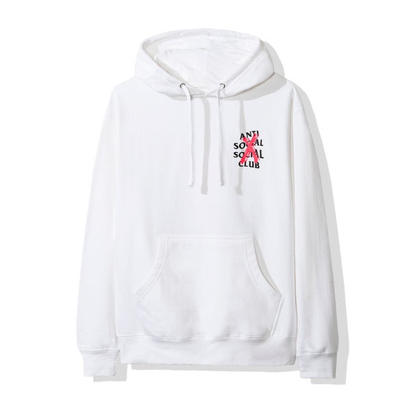 Cancelled White Hoodie