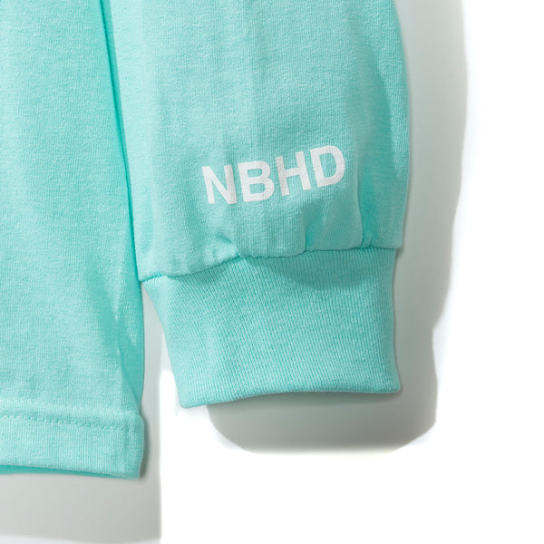 911 Long Sleeve Teal Tee
