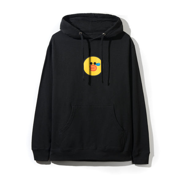 LINE FRIENDS | ASSC SALLY BLACK HOODIE