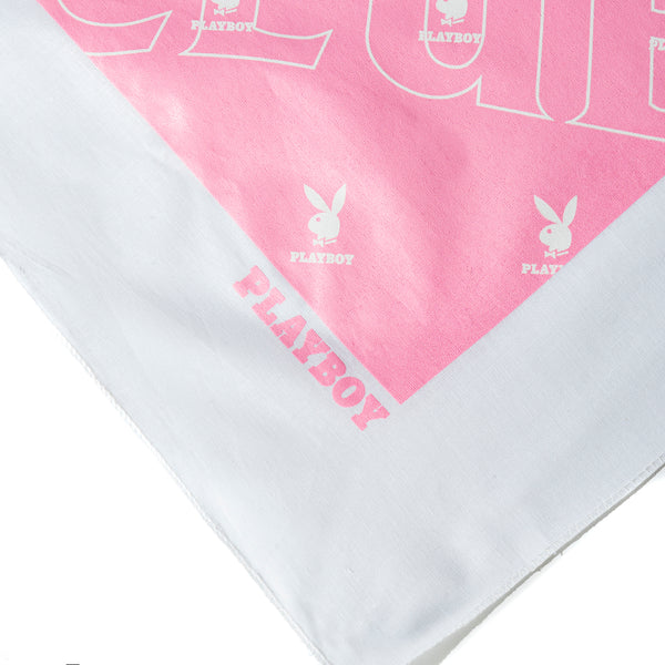 Playboy White Handkerchief
