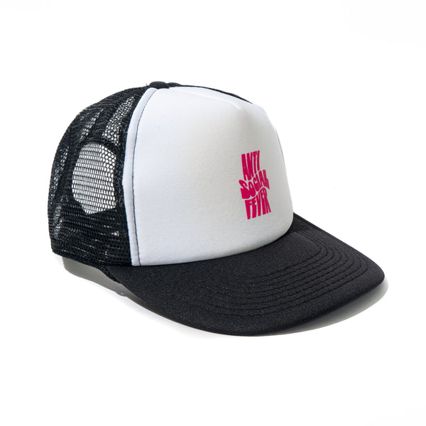 Chatsworth Black White Cap