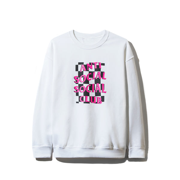 Mall Grab White Crewneck