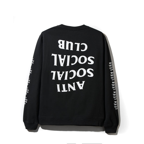 Blacked Out Black Long Sleeve Tee