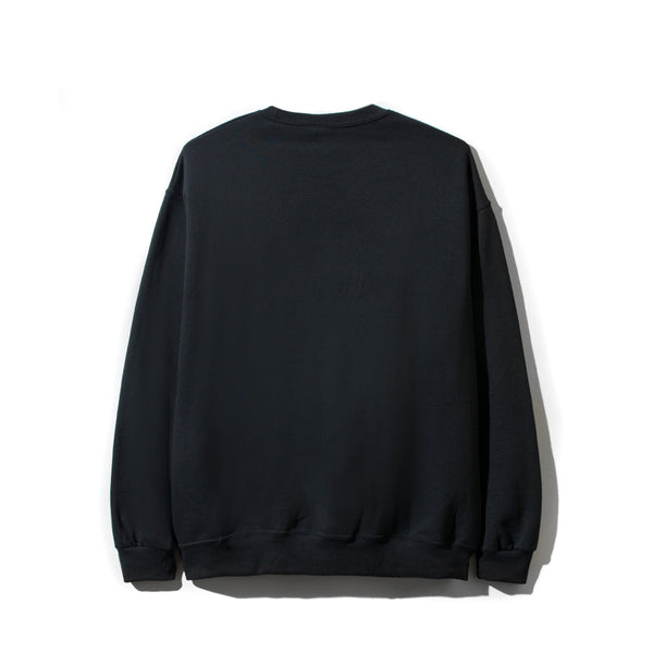 Mall Grab Black Crewneck