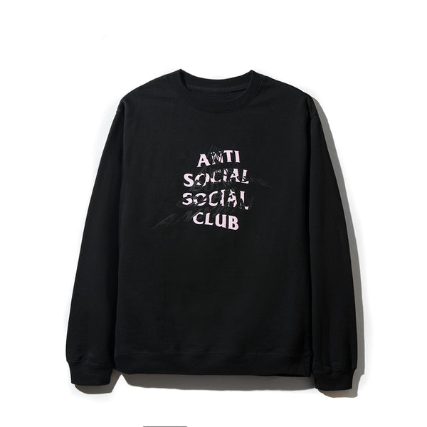 I Had A VIsion But No One Cares Anyways Black Crewneck