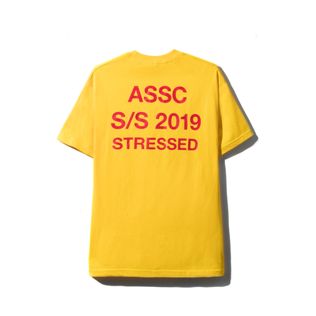 Stressed Yellow Tee