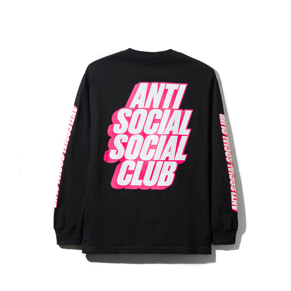 Block Me Black Long Sleeve Tee