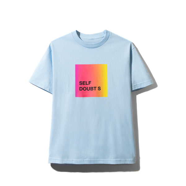 Self Doubts Light Blue Tee