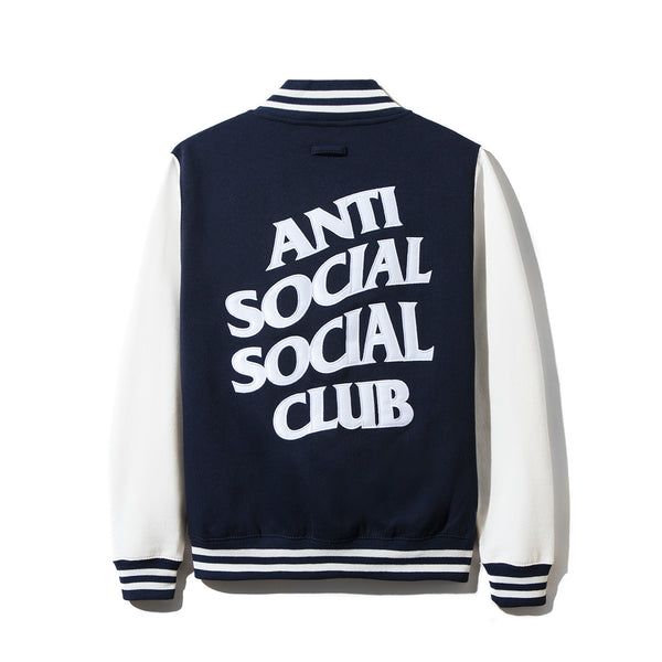 Dropout White/Navy Letterman