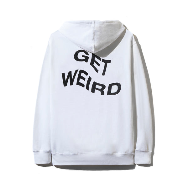 6857d0cc0573 Sold Out Get Weird White Hoodie