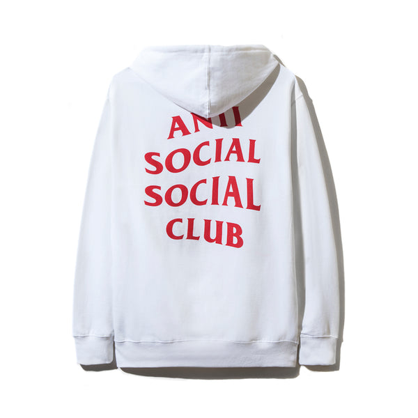 Declined White Hoodie
