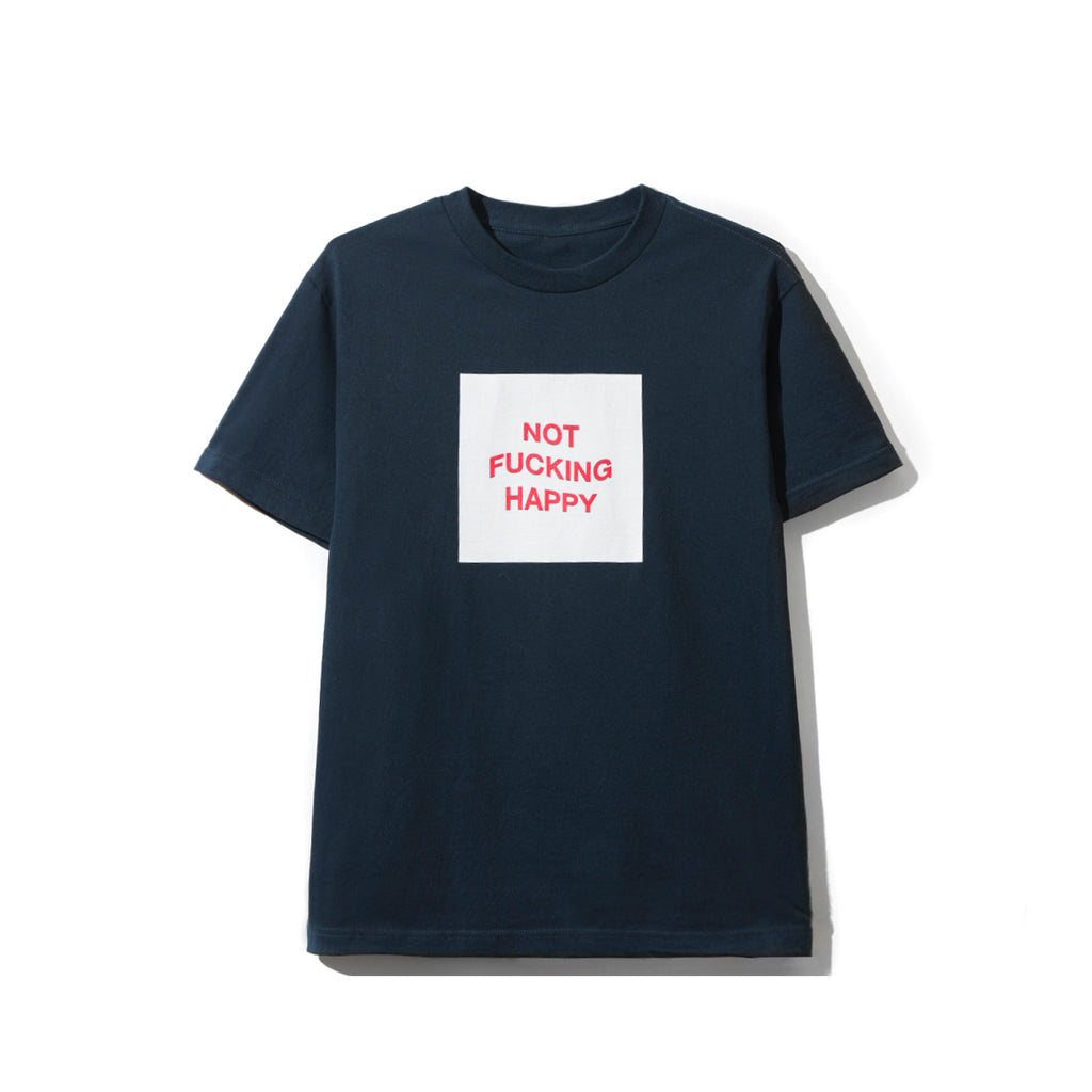 Not Fucking Happy Navy Tee