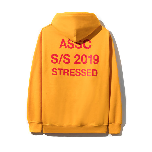 Stressed Yellow Hoodie