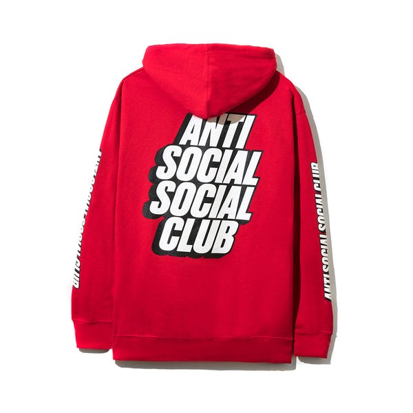 910cd60fbbfc Sold Out Block Me Red Hoodie