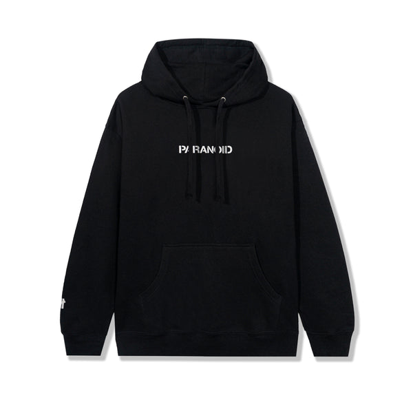 ASSC X Undefeated Paranoid Black Hoodie (3M Reflective)