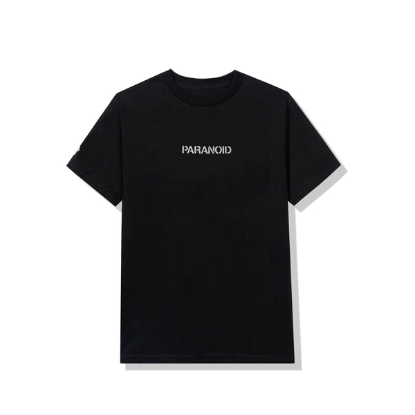 ASSC X Undefeated Paranoid Black Tee (3M Reflective)