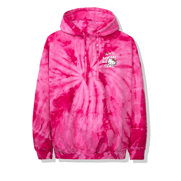 Hello Kitty x Assc Red Tie Dye Hoodie
