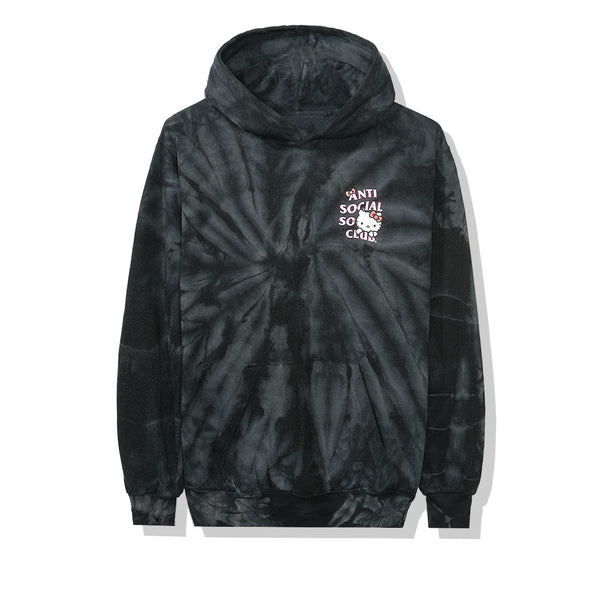 Hello Kitty x Assc Black Tie Dye Hoodie