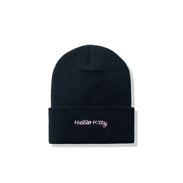 Hello Kitty x ASSC Black Knit Cap