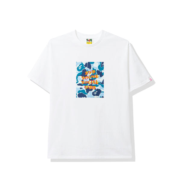 Bape x Assc Blue Box White Tee