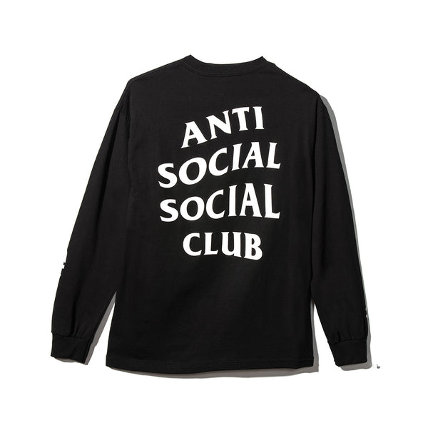 GET WEIRD BLACK LONG SLEEVE SHIRT