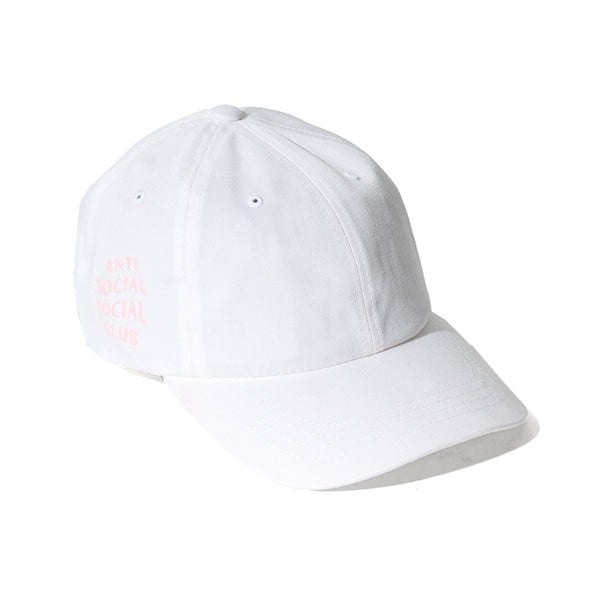 WEIRD CAP - WHITE W/ PINK